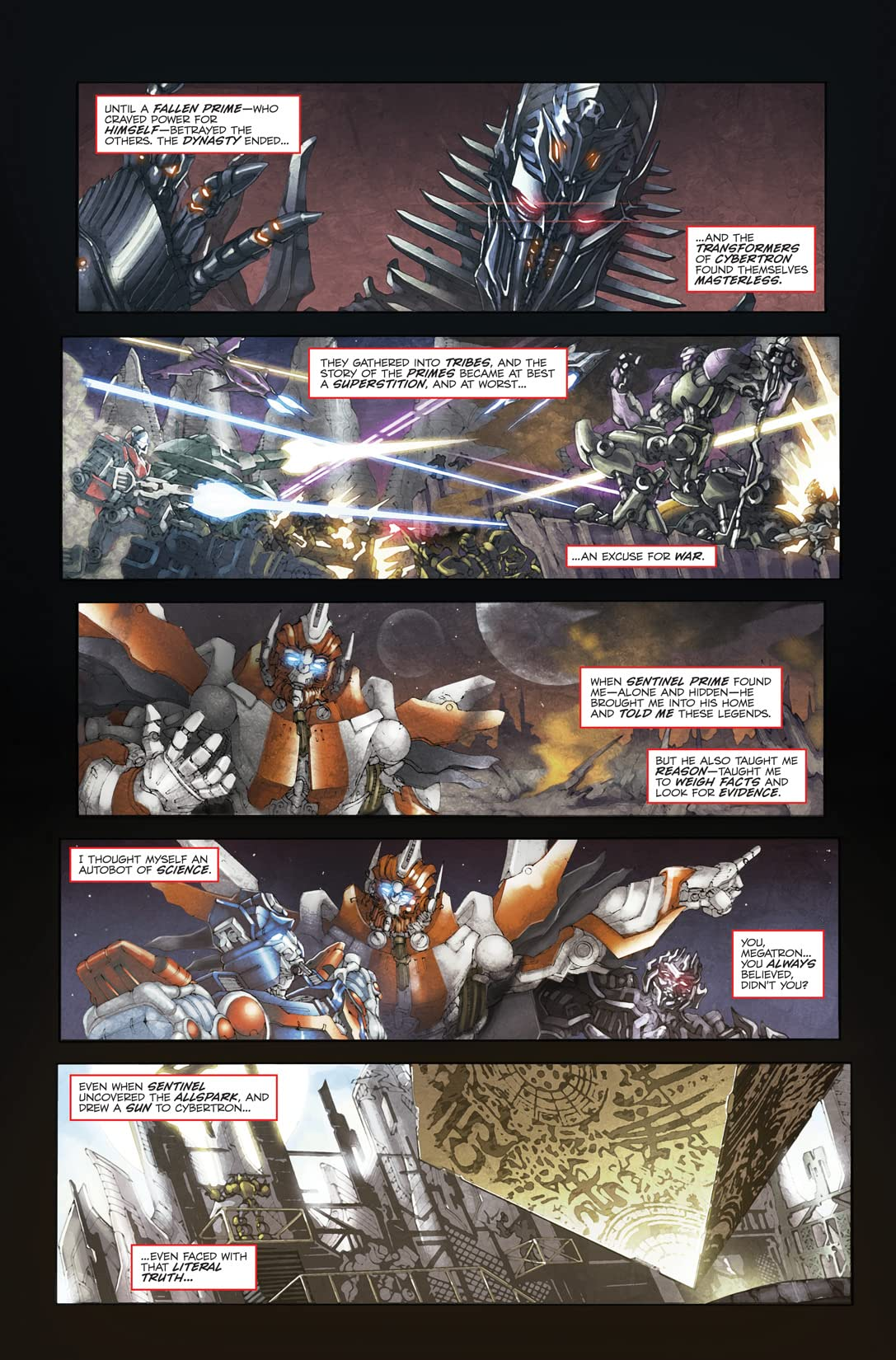 Transformers 3 Movie Prequel - Foundation #2 (of 4)
