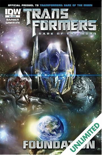 Transformers 3 Movie Prequel - Foundation #4 (of 4)