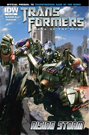 Transformers: Rising Storm #4 (of 4)
