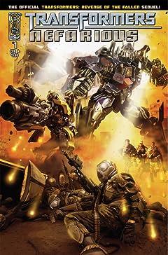 Transformers: Nefarious #1