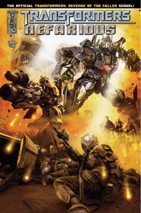Transformers: Nefarious #1