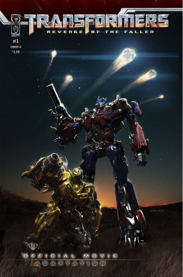 Transformers: Revenge of the Fallen Movie Adaptation #1