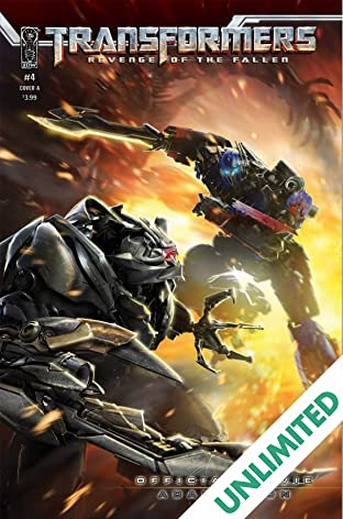 Transformers: Revenge of the Fallen Movie Adaptation #4