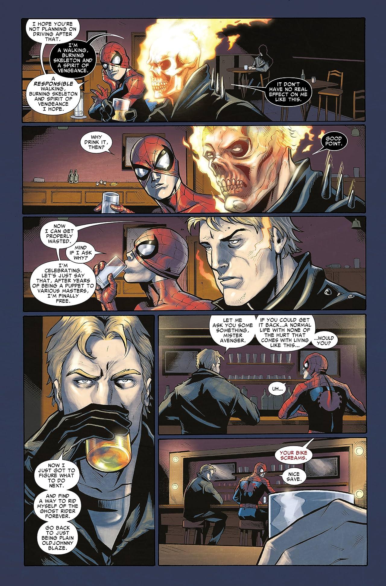 Amazing Spider-Man/Ghost Rider: Motorstorm