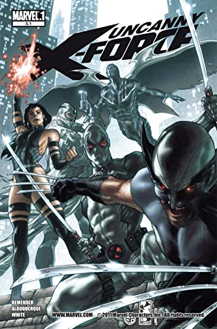 Uncanny X-Force (2010-2012) No.5.1