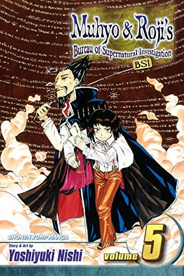 Muhyo & Roji's Bureau of Supernatural Investigation Vol. 5