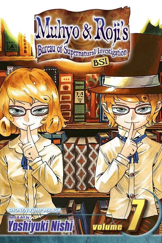 Muhyo & Roji's Bureau of Supernatural Investigation Vol. 7