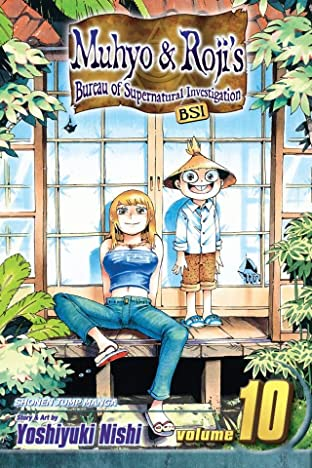 Muhyo & Roji's Bureau of Supernatural Investigation Vol. 10
