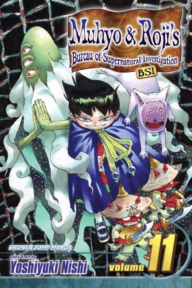 Muhyo & Roji's Bureau of Supernatural Investigation Vol. 11