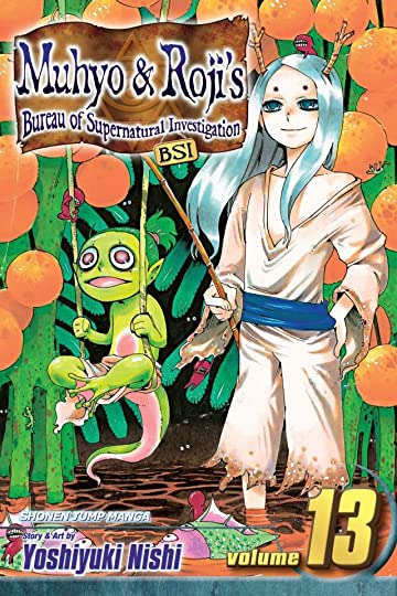 Muhyo & Roji's Bureau of Supernatural Investigation Vol. 13