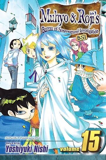 Muhyo & Roji's Bureau of Supernatural Investigation Vol. 15