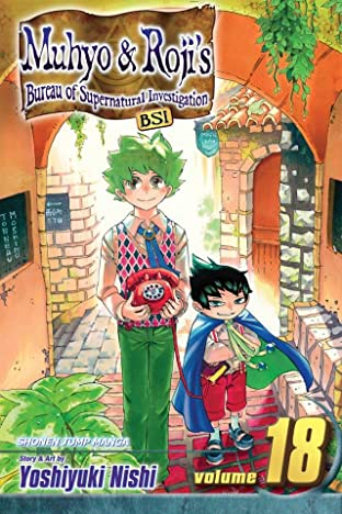 Muhyo & Roji's Bureau of Supernatural Investigation Vol. 18