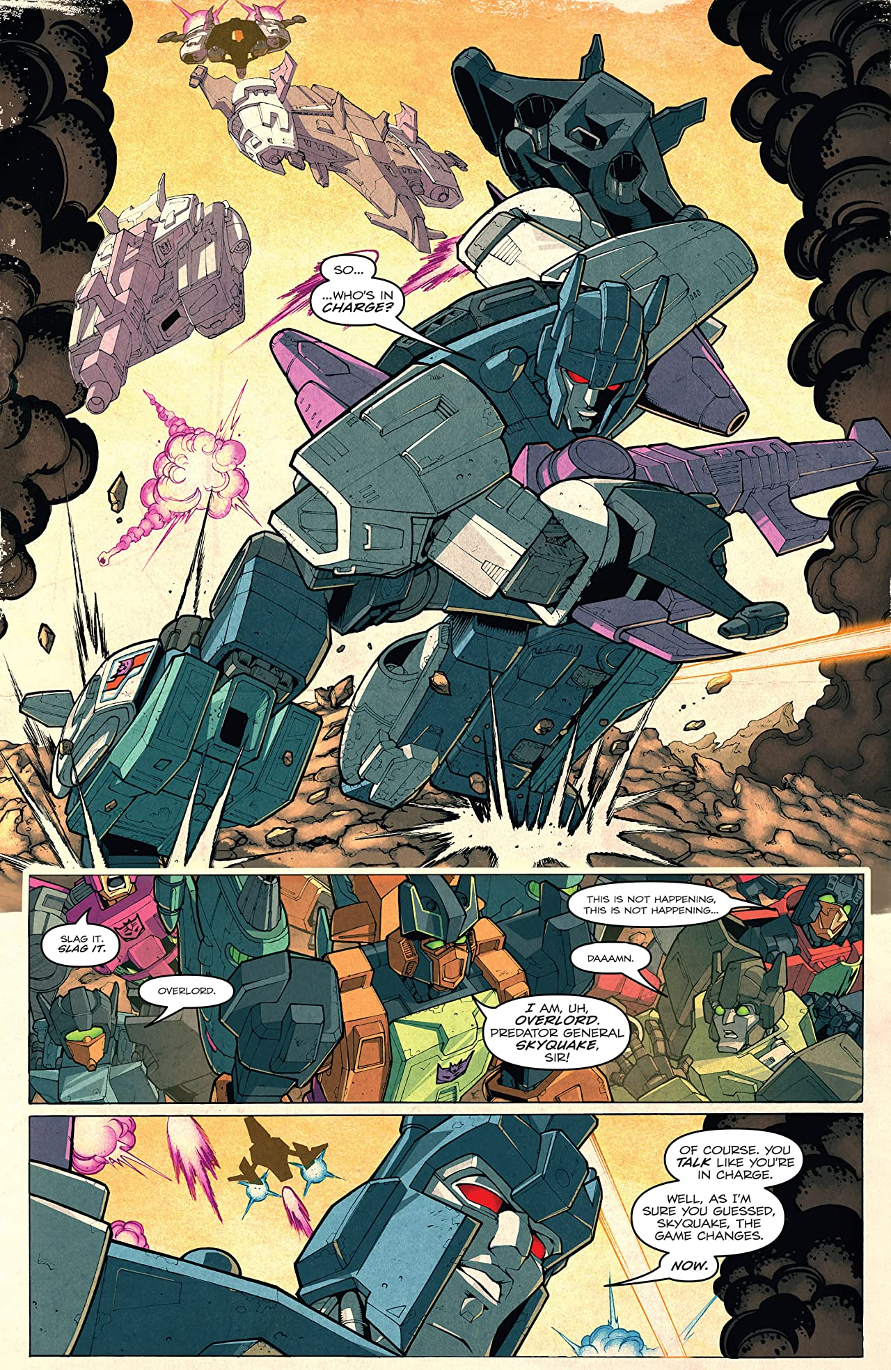 Transformers: Last Stand of the Wreckers Collected Edition