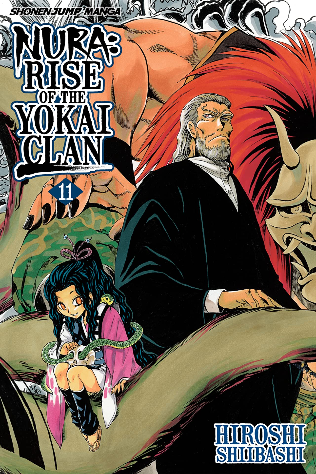 Nura: Rise of the Yokai Clan Vol. 11