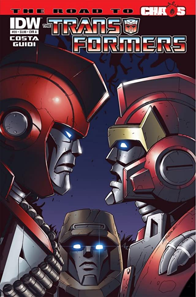 Transformers (2010-2011) #20