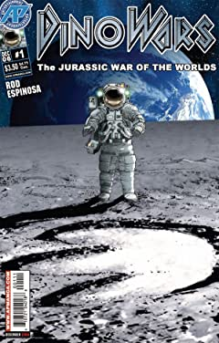 Dinowars #1 (of 4): Jurassic War of the Worlds