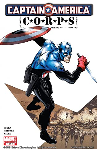 Captain America Corps #1 (of 5)