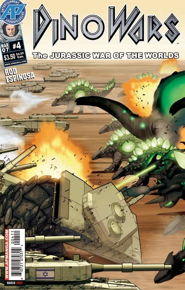 Dinowars #4 (of 4): Jurassic War of the Worlds