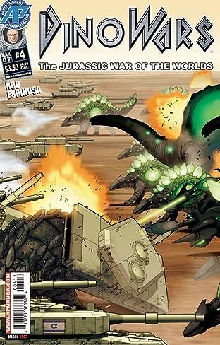 Dinowars #4: Jurassic War of the Worlds