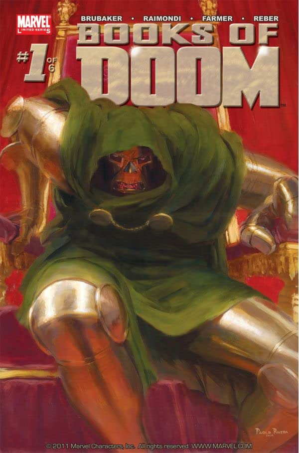 Fantastic Four: Books of Doom #1