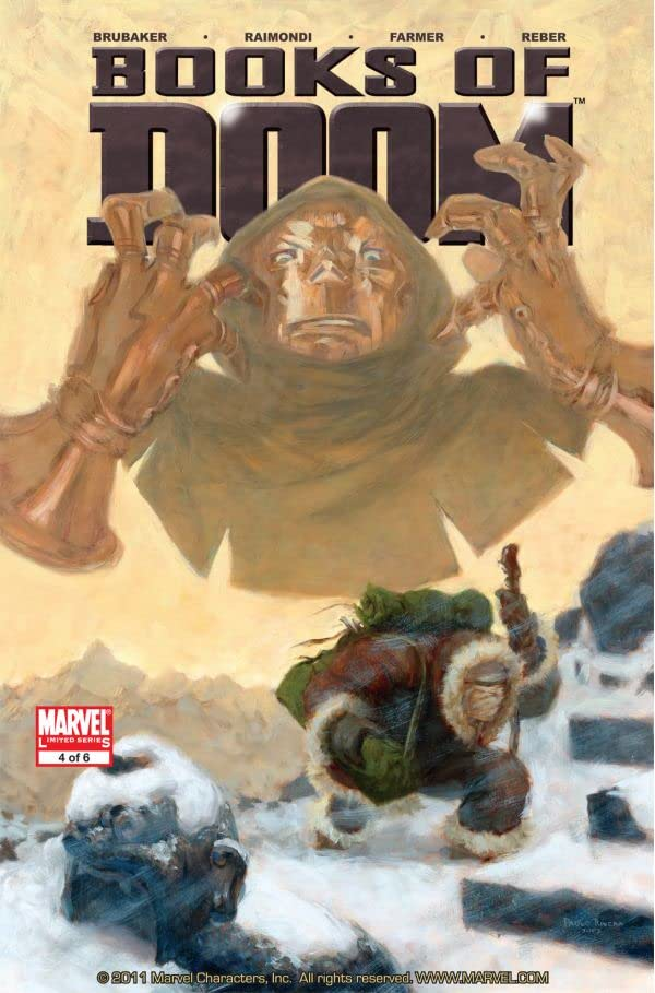 Fantastic Four: Books of Doom #4