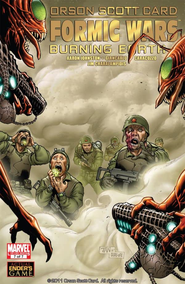 Formic Wars: Burning Earth #7 (of 7)