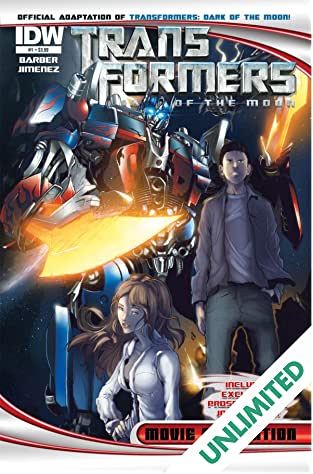 Transformers 3 Movie Adaptation - Dark of the Moon #1