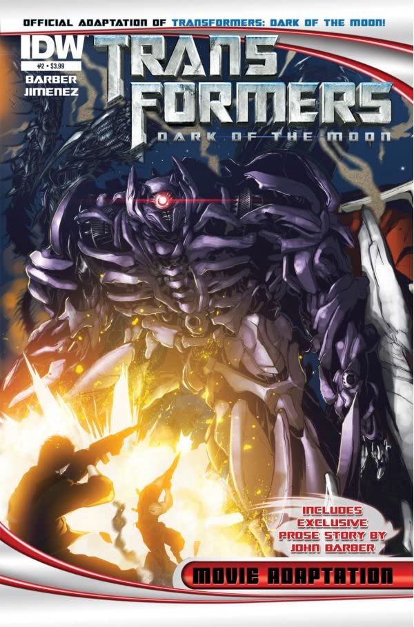 Transformers 3 Movie Adaptation - Dark of the Moon #2