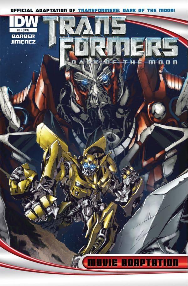 Transformers 3 Movie Adaptation - Dark of the Moon #3