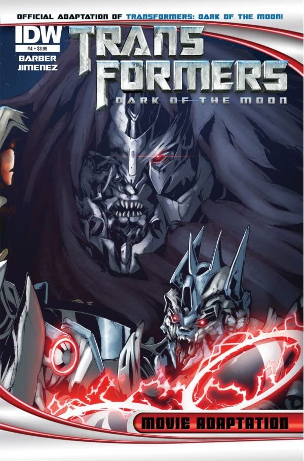 Transformers 3 Movie Adaptation - Dark of the Moon #4