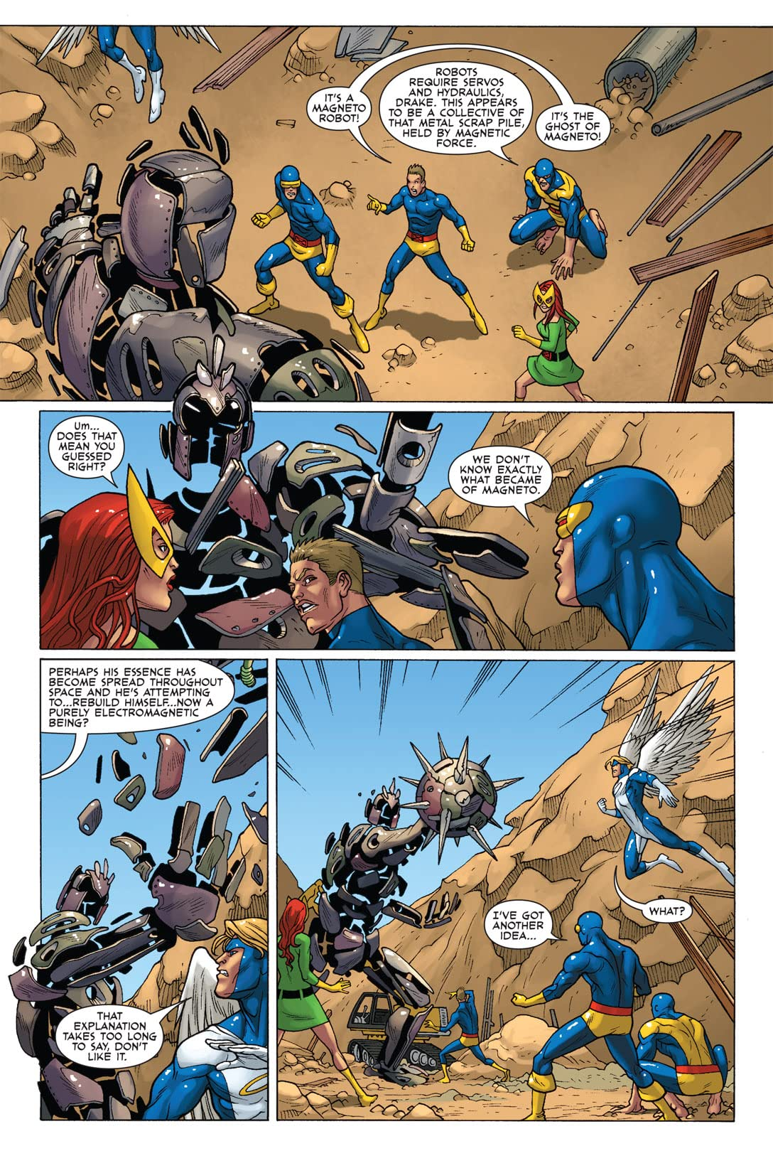 X-Men: First Class Finals #3 (of 4)