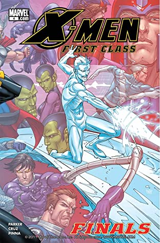 X-Men: First Class Finals #4 (of 4)