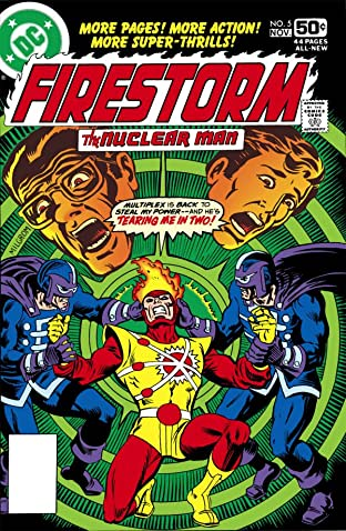 Firestorm: The Nuclear Man (1978) #5