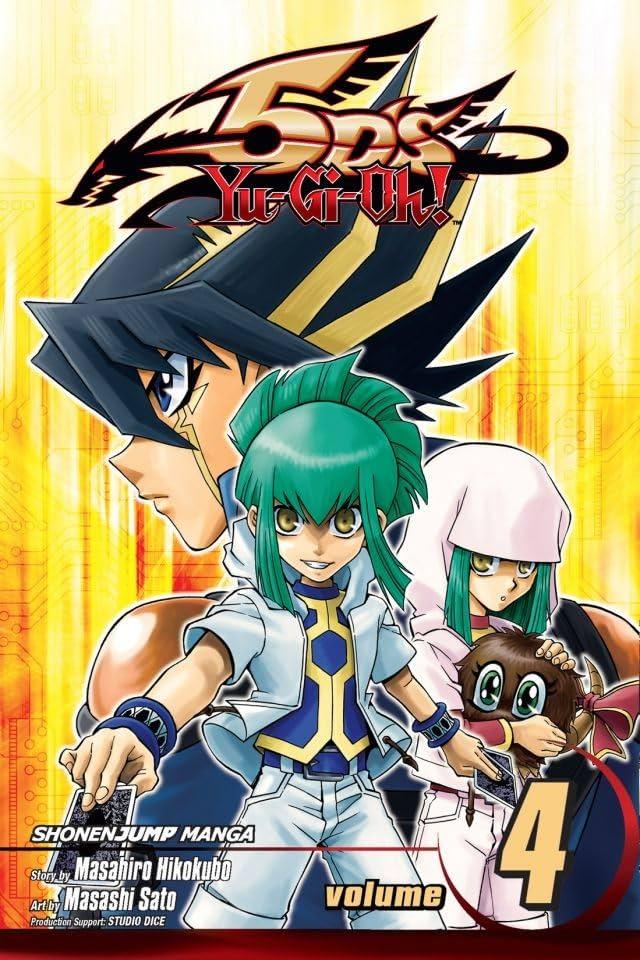 Yu-Gi-Oh! 5D's Tome 4