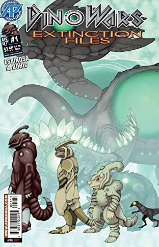 Dinowars #1: Extinction Files