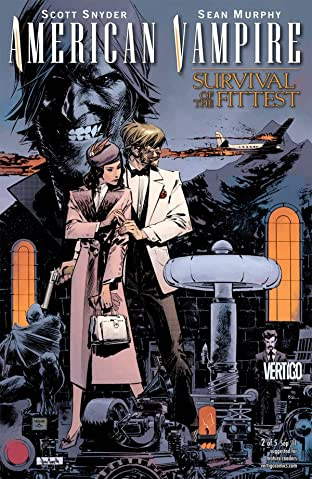 American Vampire: Survival of the Fittest No.2 (sur 5)