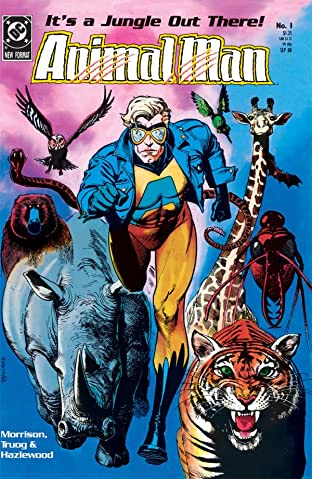 Animal Man (1988-1995) No.1