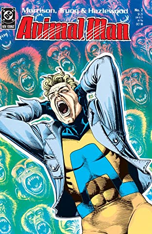 Animal Man (1988-1995) No.2