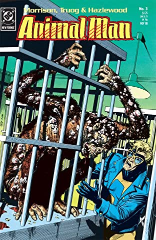 Animal Man (1988-1995) No.3