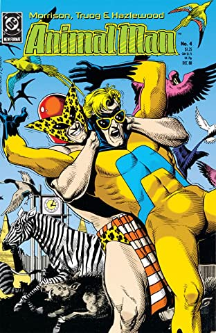 Animal Man (1988-1995) No.4