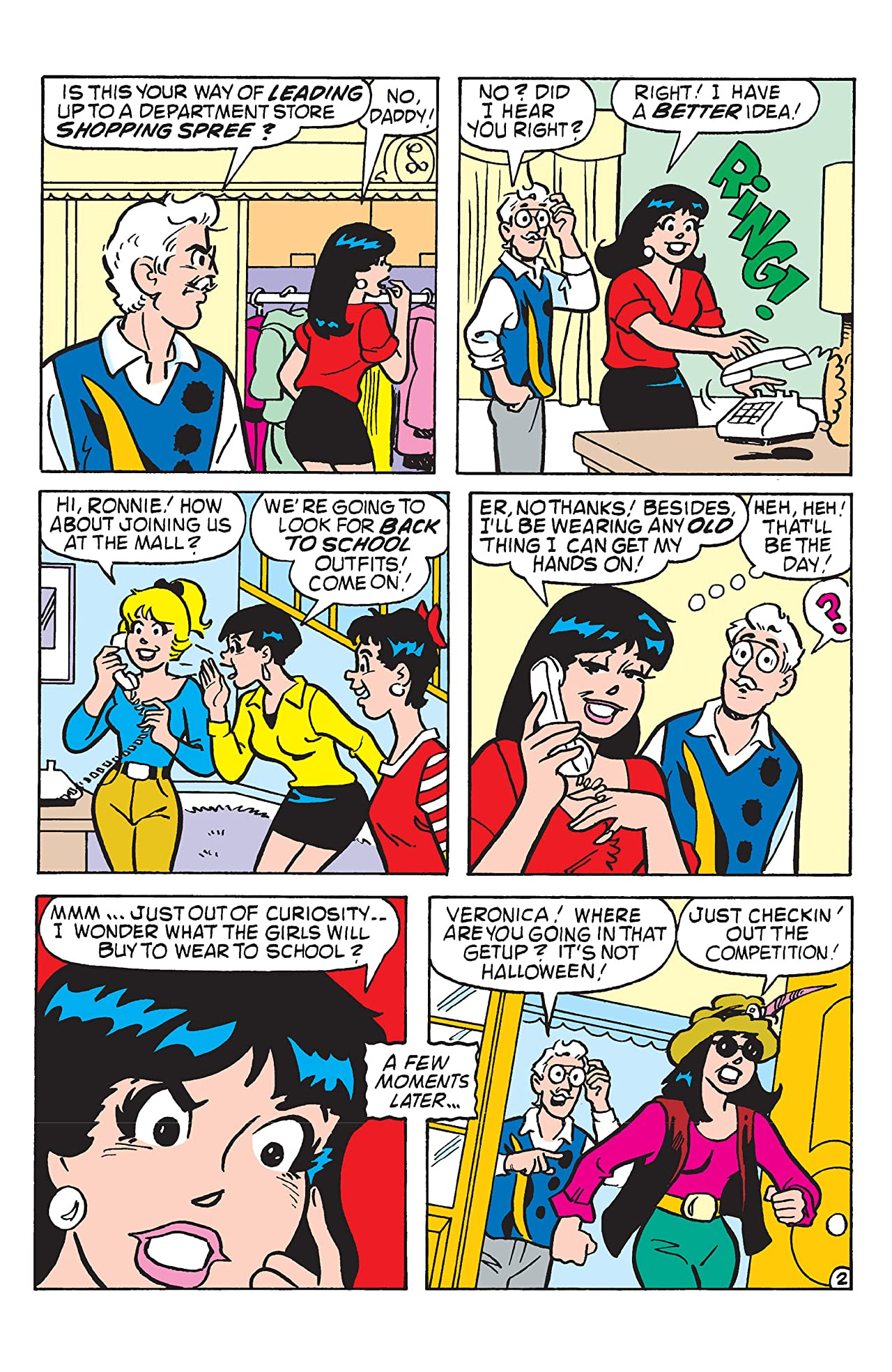 PEP Digital #104: Veronica's Hot Fashions