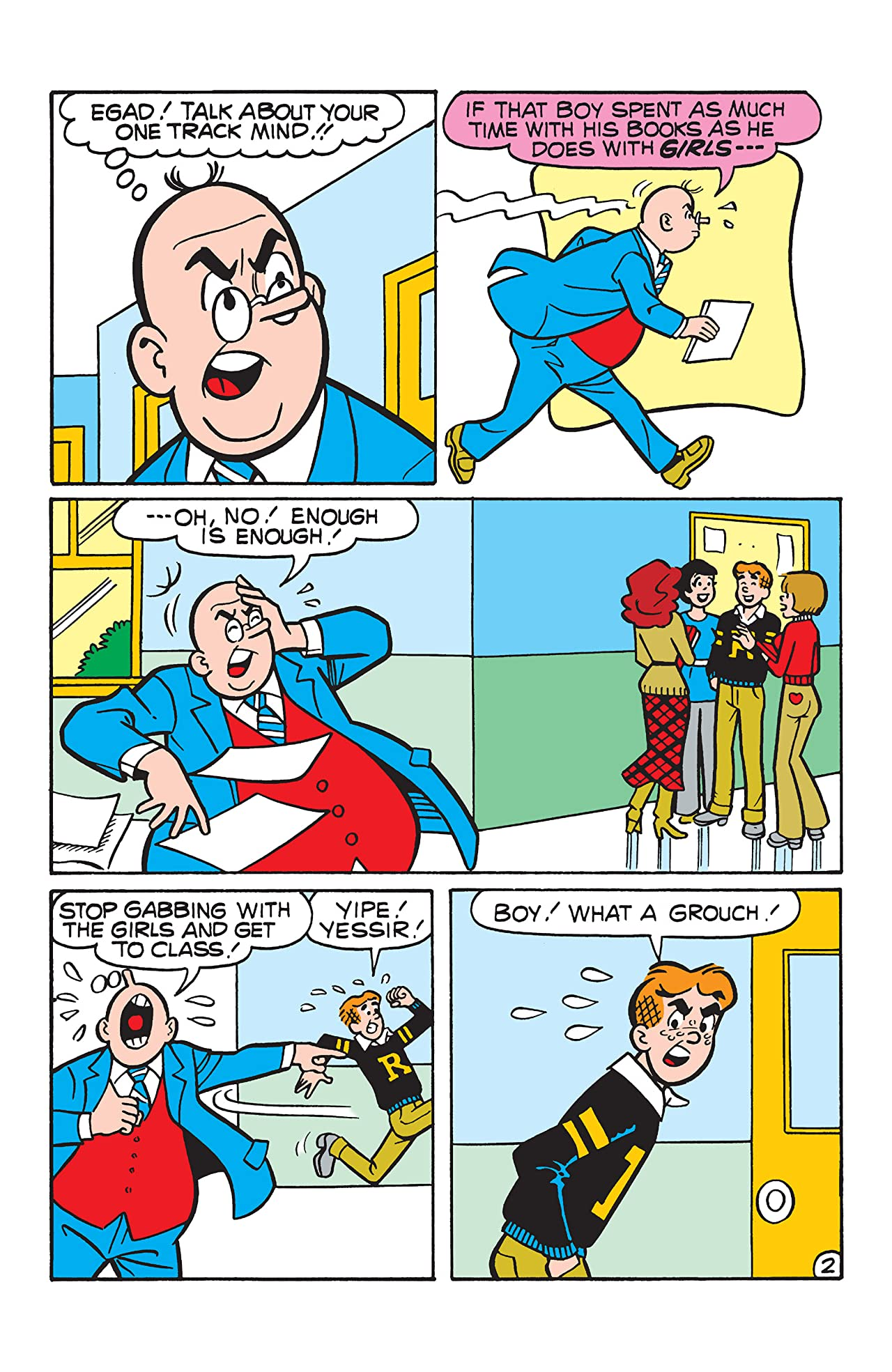 PEP Digital #106: Archie vs Principal Weatherbee
