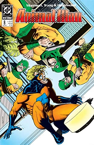 Animal Man (1988-1995) No.8