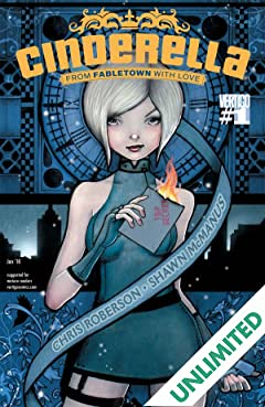 Cinderella: From Fabletown With Love #1 (of 6)