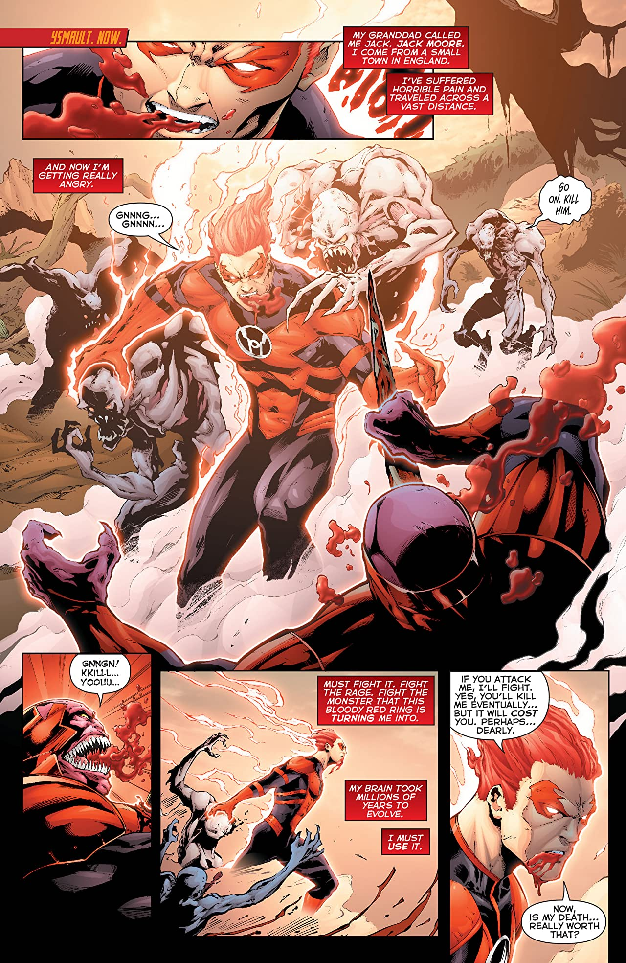 Red Lanterns (2011-2015) Vol. 2: Death of Red Lanterns