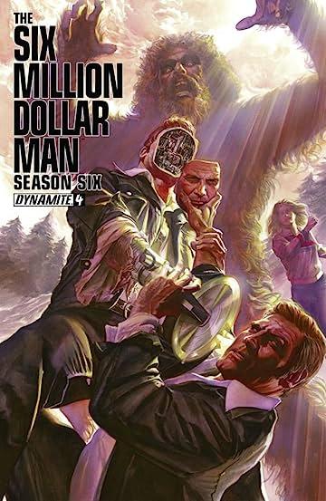The Six Million Dollar Man: Season Six #4: Digital Exclusive Edition
