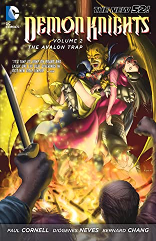 Demon Knights (2011-2013) Vol. 2: The Avalon Trap