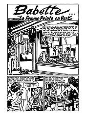 BABETTE Vol. 1: La Femme peinte en vert