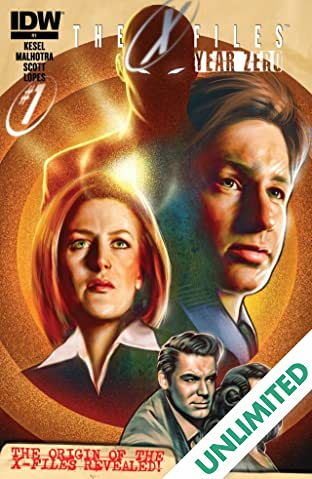 The X-Files: Year Zero #1 (of 5)