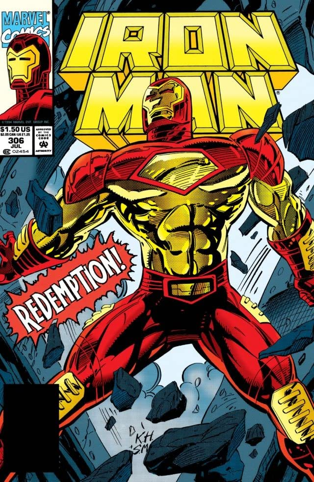 Iron Man (1968-1996) #306